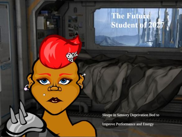 Capture of Future Student Presentation